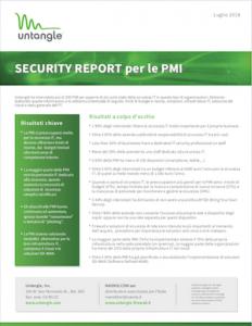Rapporto sulla sicurezza informatica nelle PMI